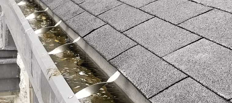 clean and clear commercial gutter cleaning