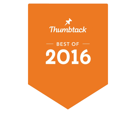 Thumbtacks Top Service Provider Award Winner