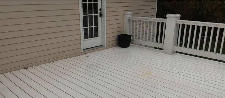 clean and clear pressure washing