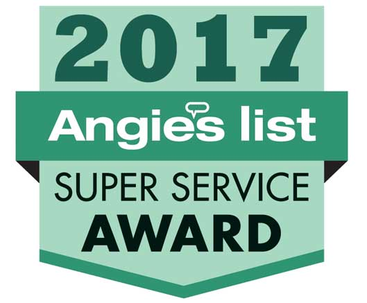 2017 Angie's List Super Service Award® (SSA) Winner for Cleaning Services