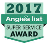 2017 Angie's List Super Service Award® Winner