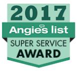 2017 Angie's List Super Service Award® Winner