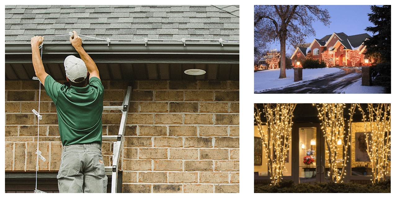 Professional Holiday / Christmas Light Installation & Removal Service in Minnesota, MN