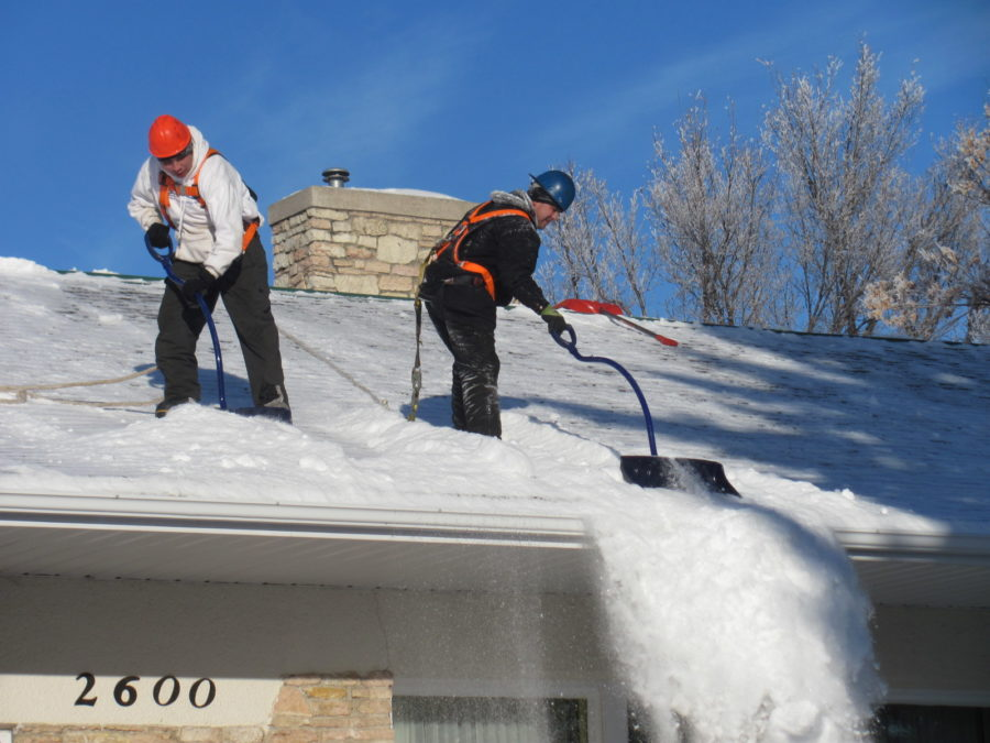 Roof Snow Removal Twin Cities